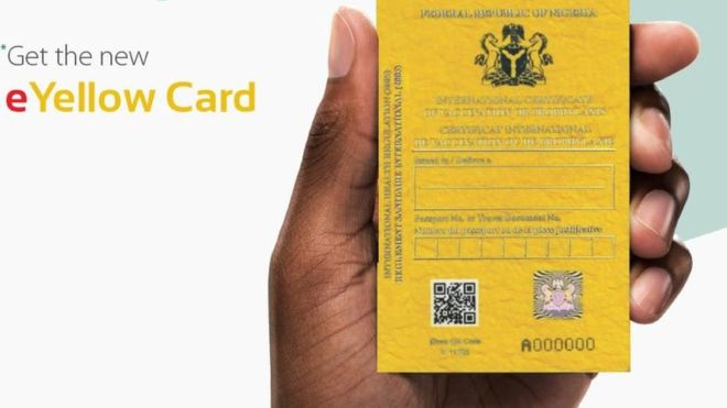 Importance of vaccinations and yellow fever card